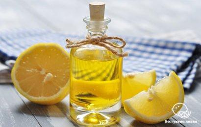 Очищение касторовым маслом и лимоном