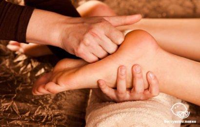 Точечный массаж стоп. Рефлексотерапия стоп