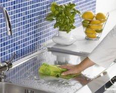 Как отмыть и очистить кухню народными средствами