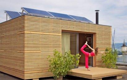 Компактный модульный дом с удобствами