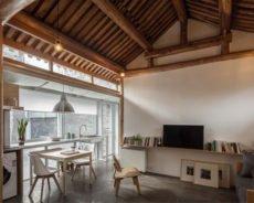 Небольшой дом в Пекине по проекту студии OEU-ChaO