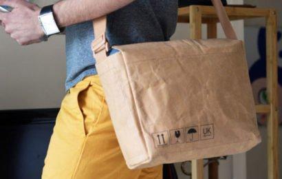 Бумажные кошельки, сумки и рюкзаки компании Urban Kraft