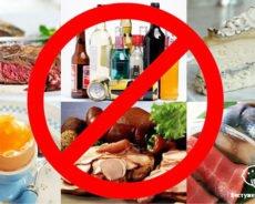 Топ-10 самых запрещенных продуктов при беременности