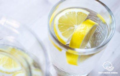 Что происходит с телом, если пить воду с лимоном