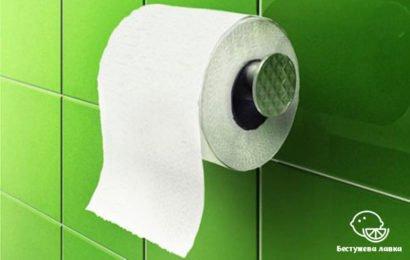 Эко туалетная бумага из вторичного сырья