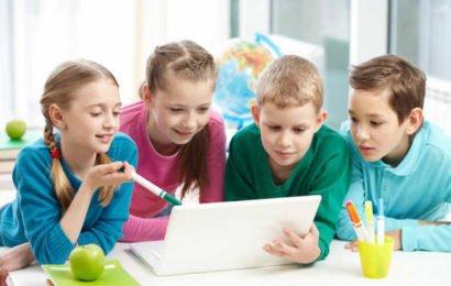 Новое цифровое поколение Z детей