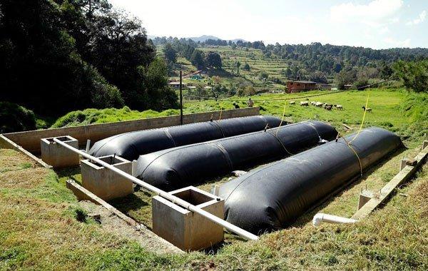 Биогаз производство