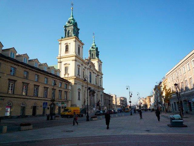 Костёл Святого Креста (Варшава)