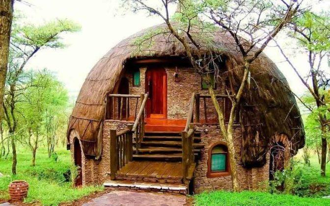 дома круглой формы