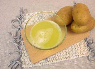 фото картофельного сока