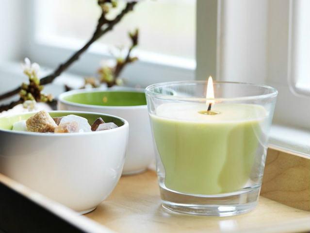 Ароматизированная свеча