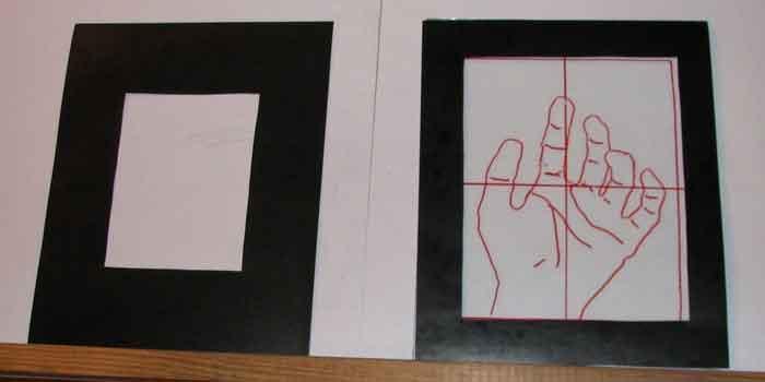 Рисование с видоискателем. Техника правополушарного рисования