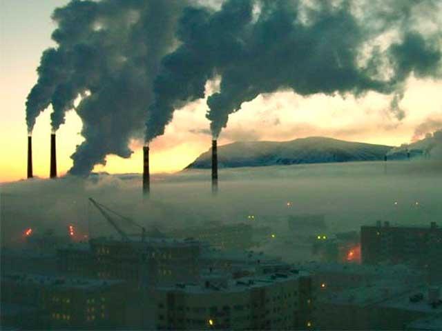 Норильск, входит в 10 грязных городов мира