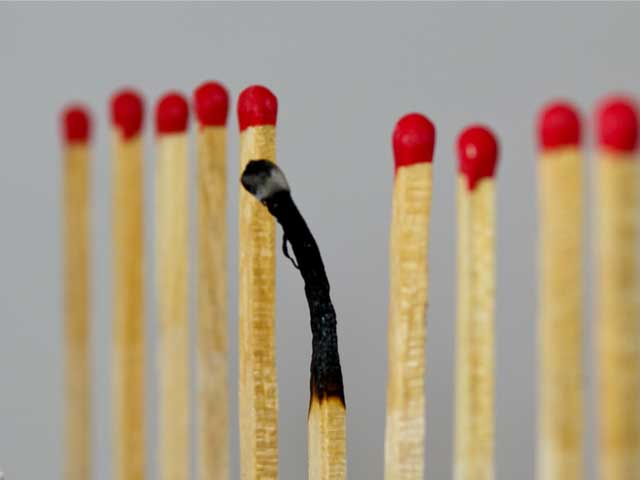 Симптомы эмоционального выгорания