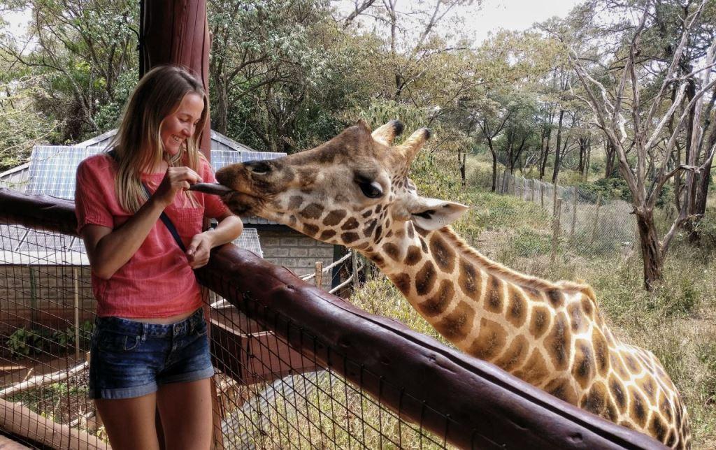 Саша в Кении
