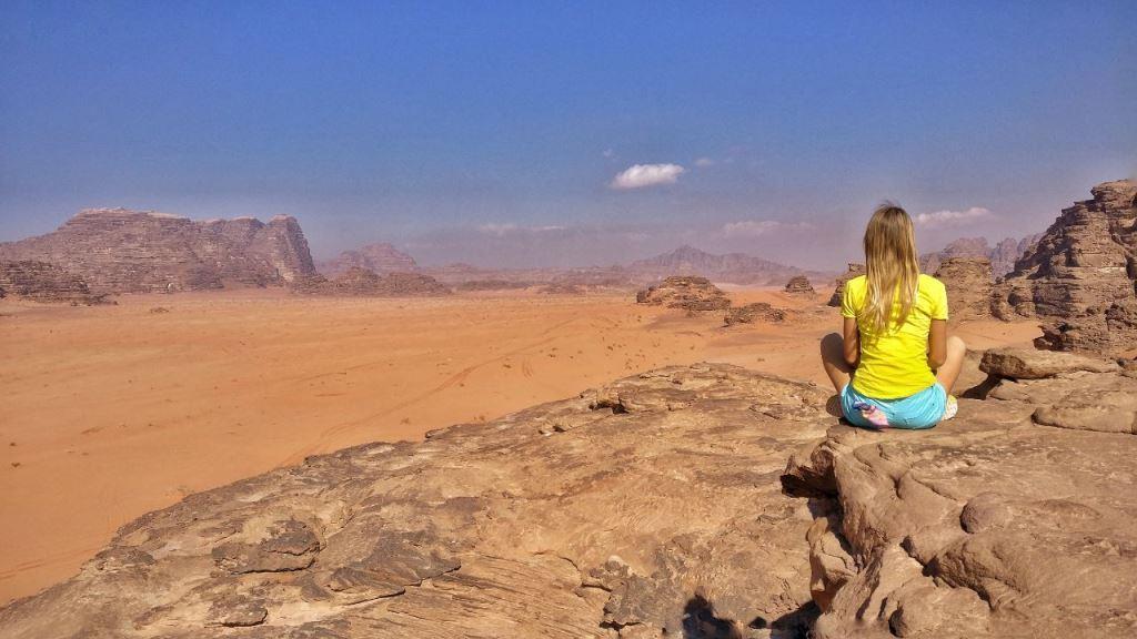 Саша Уикенден в Иордании