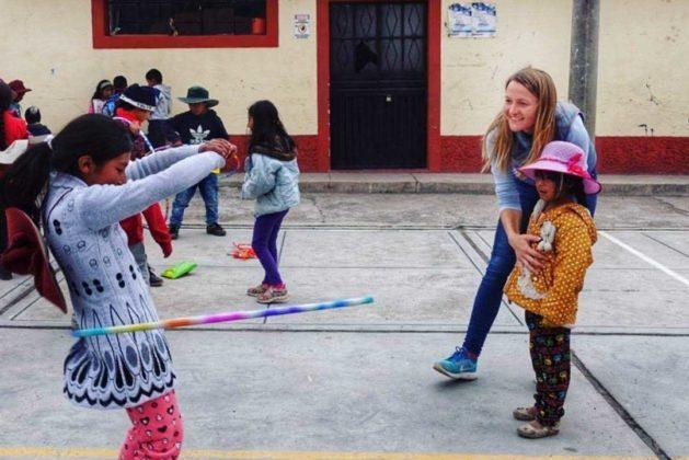 Волонтерство в школе Перу