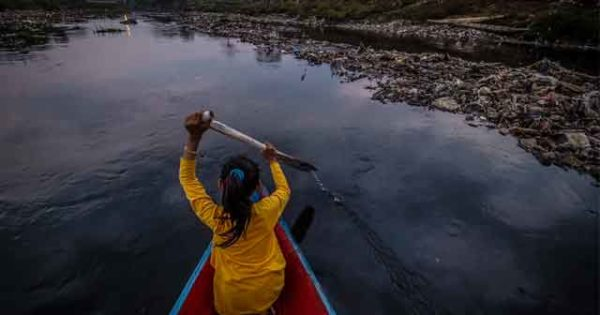 Наиболее загрязненные реки