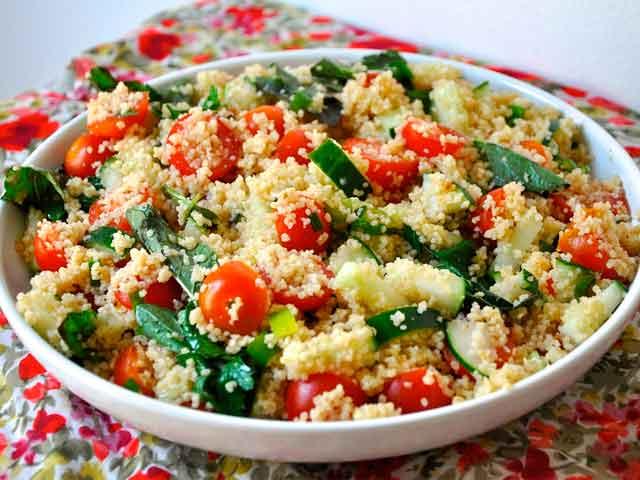 Рецепт салата из кускуса