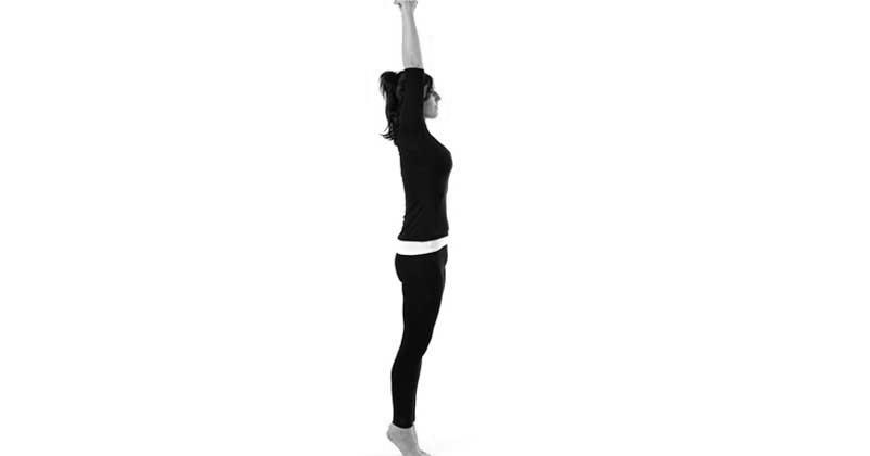 Тянемся вверх - упражнение при сколиозе