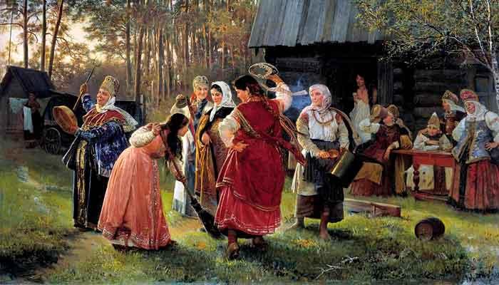 Древние славяне и зеркала