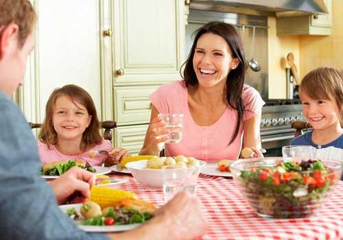 Семейный ужин без гаджетов