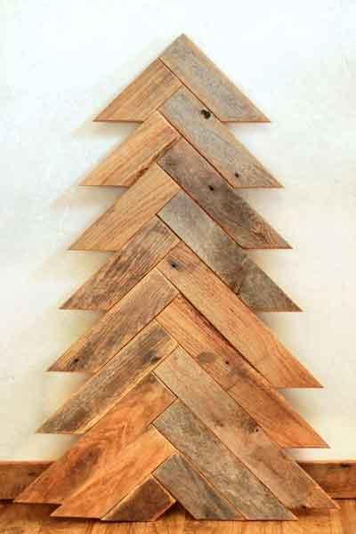 Искусственная елка в эко стиле - 3