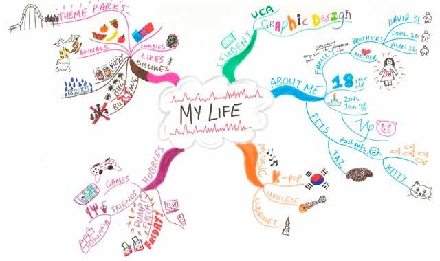 Карта жизни человека