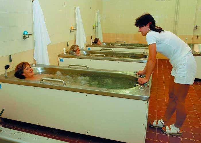 Радоновые ванны в Чехии
