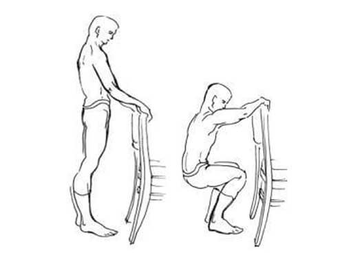 Деcятое упражнение по системе Амосова