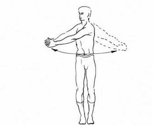 Шестое упражнение Амосова