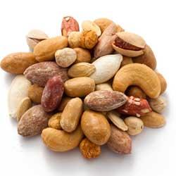Содержание белка в орехах: таблица