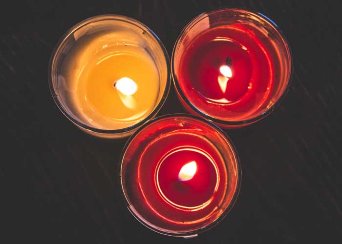 Свечи для желаний на рождество