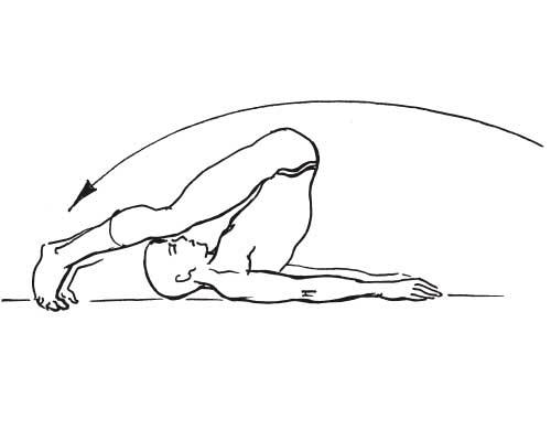 Упражнения Николая Амосова. Первое упражнение