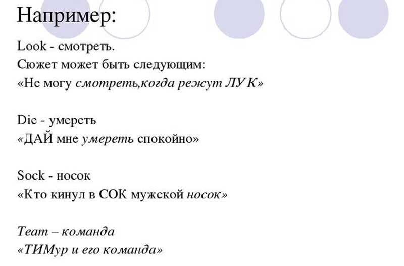Метод фонетической ассоциации