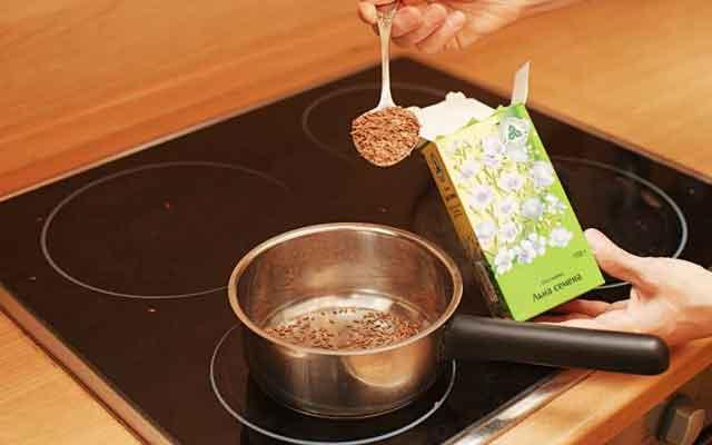 Отвар из льняного семени для очищения и похудения
