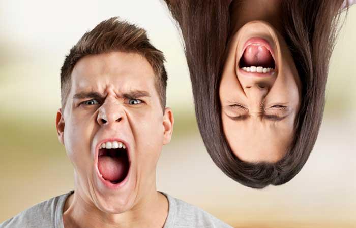 Причины гнева у женщин и мужчин