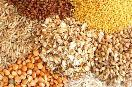 Зерна, злаки и отруби для улучшения пищеварения