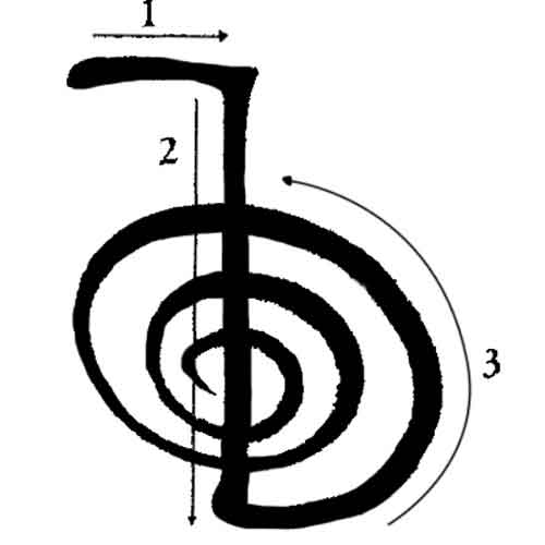 Чо ку рей значение символа