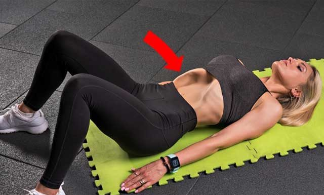 """Как правильно делать упражнение """"Вакуум живота"""""""