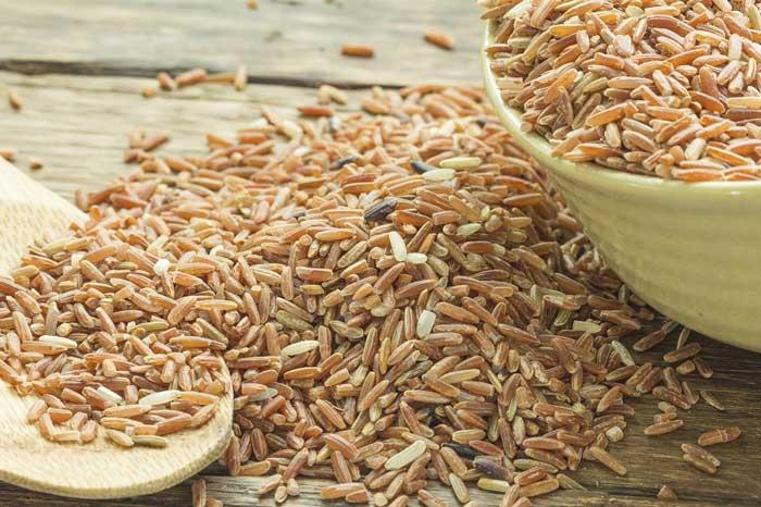 Бурый рис: польза и вред для похудения