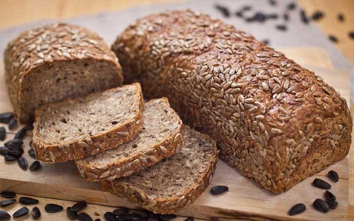 Хлеб зерновой с кальцием, таблица