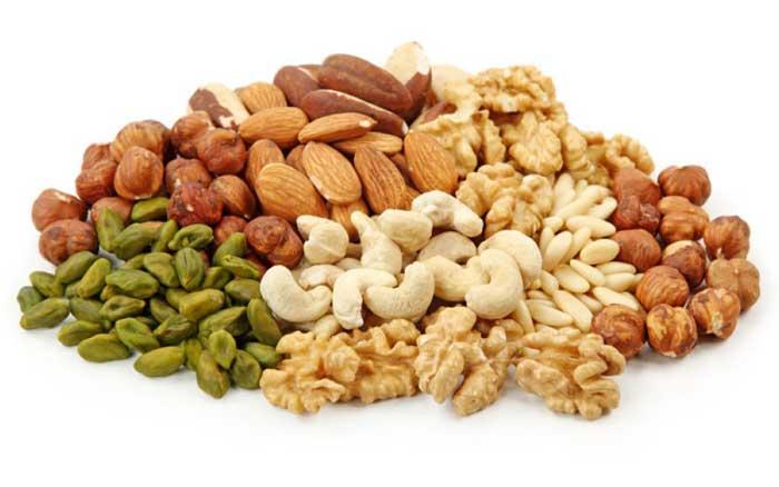Кальций в семенах и орехах