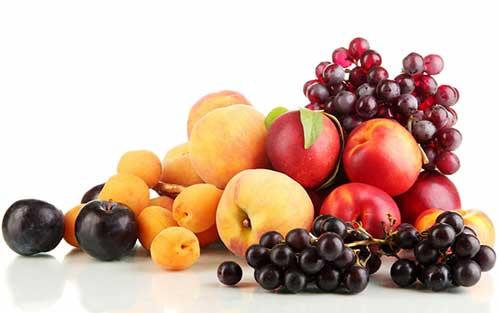 Магний в фруктах и ягодах