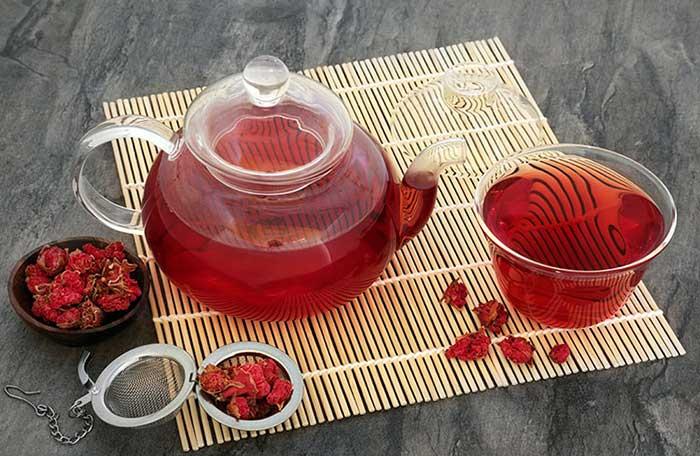 Польза и вред гранатового чая