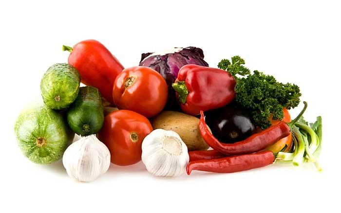 Клетчатка в овощах и зелени