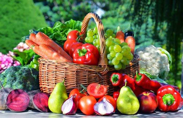 Сезонные овощи и фрукты в России: таблица
