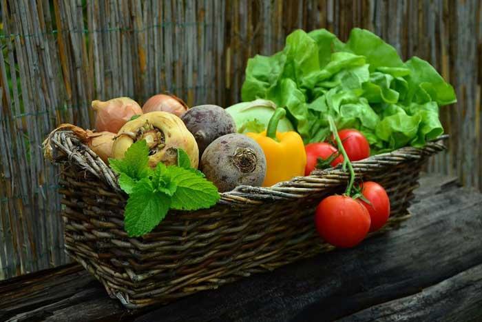 Таблица содержания углеводов в овощах