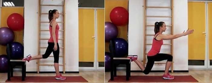 Упражнение №1. Приседания