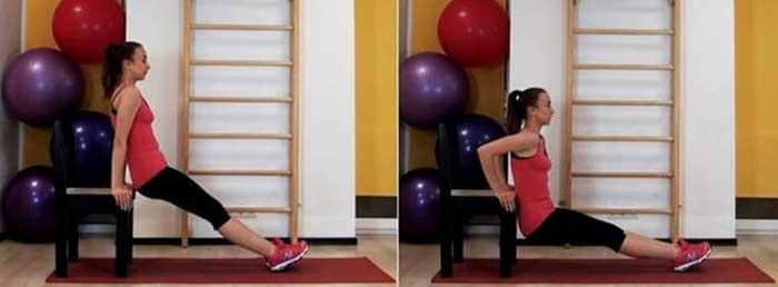 Упражнение №2. Отжимания в обратном порядке